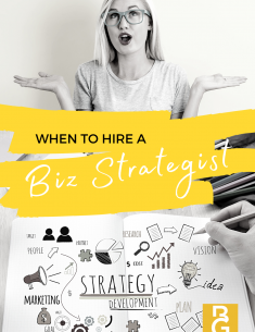 When to Hire a Biz Strategist