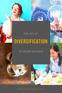 Diversification and Online Business